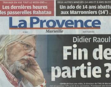 La Provence - 19 Août 2021