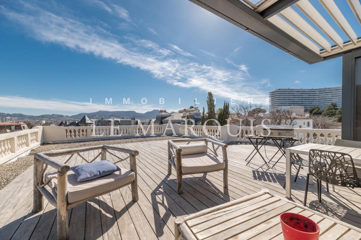 Très belle terrasse de 160 m2