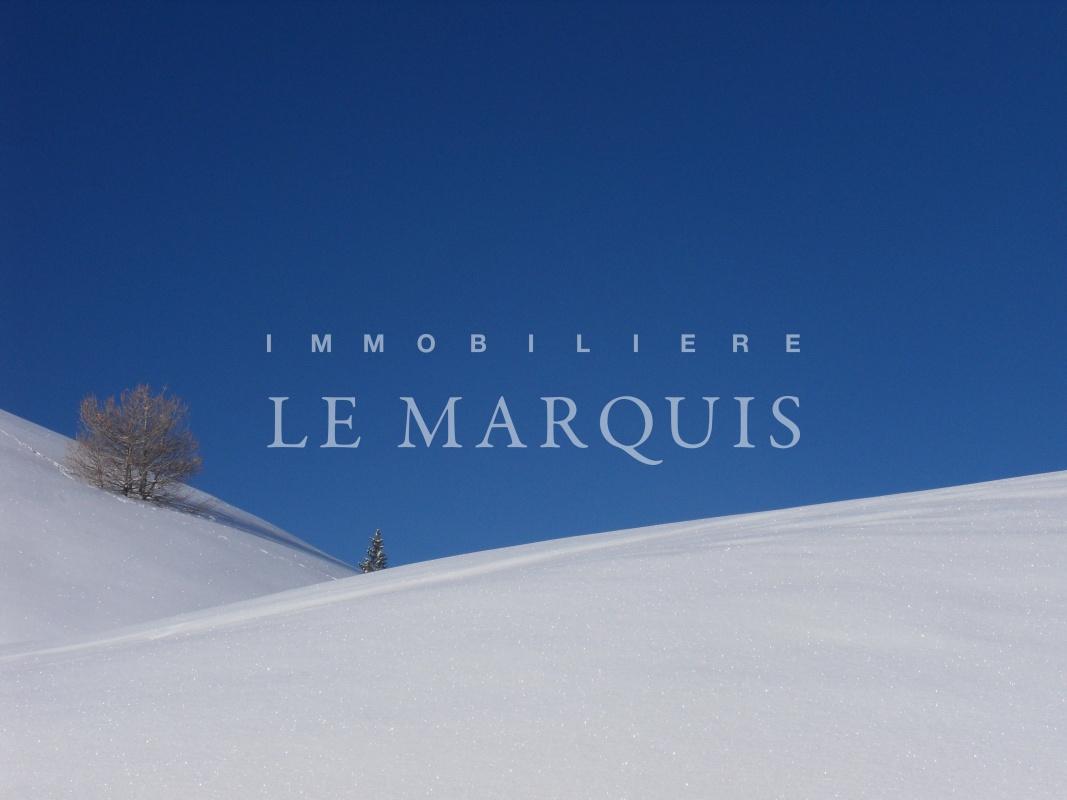 Chalet idéalement situé pour profiter pleinement des nombreuses pistes de ski de fond et alpin en hiver