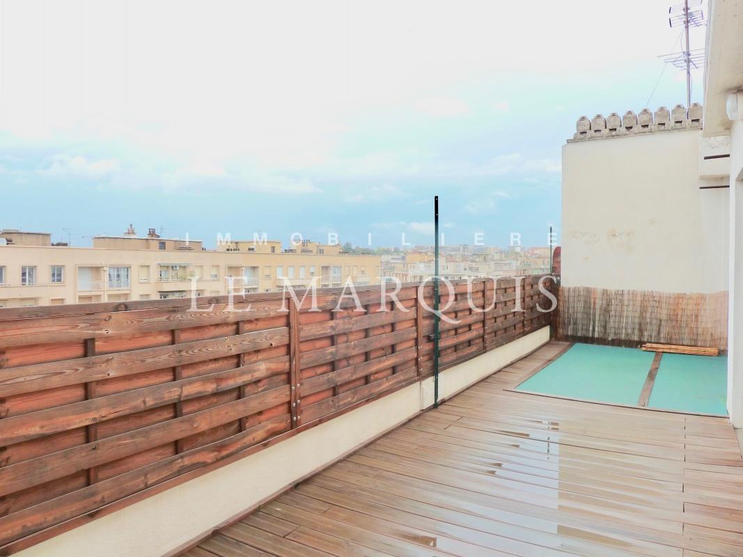 Belle terrasse de 35 m2